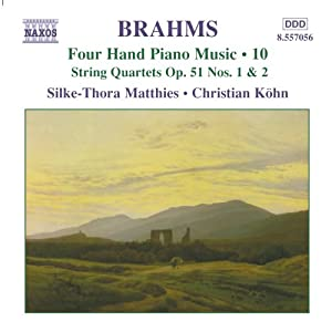Brahms - Four Hand Piano Music, Vol 10