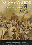 Vol. I Nation of Nations: A Concise Narrative of the American Republic (0070157391) by Davidson, James West