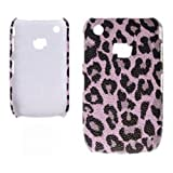 Xtra-FUnky Exclusive Leopard Print Textured Case Cover For BlackBerry CURVE 8520 & 9300 (BLACKBERRY CURVE 8520 - 9300, Pink - Purple - Black)by Xtra-Funky