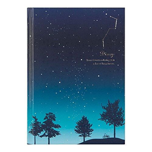 ミドリ 日記 星空柄