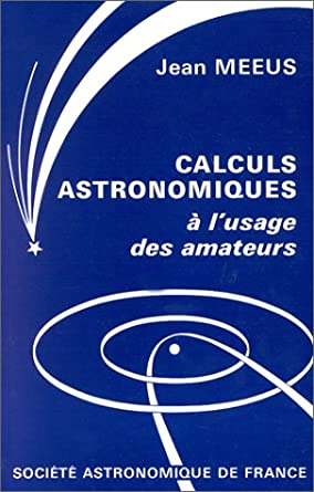 Astronomical formulae for calculators jean meeus