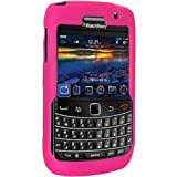 Amzer Silicone Skin Jelly Case for Blackberry Bold 9700 Onyx Bold2 - Hot Pink