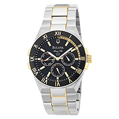 Bulova Men's 98C004 Marine Star Day-Date Watch