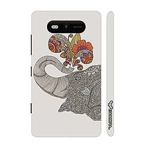 Nokia Lumia 820 Indian Giant designer mobile hard shell case by Enthopia
