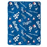 MLB Los Angeles Dodgers Royal Plush Throw, 50 x 60 Inches