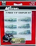 Milton Industries Inc. S-212M-Style Coupler Kit, 7-Piece