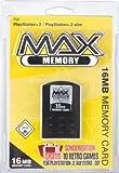 echange, troc Carte Mémoire 16 Mo max pour Playstation 2 + 10 jeux