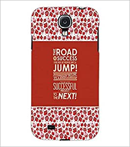 PrintDhaba Quote D-3671 Back Case Cover for SAMSUNG GALAXY MEGA 6.3 (Multi-Coloured)