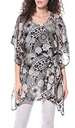 Studio b40 women Printed poncho