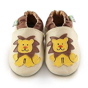 Snuggle Feet - Suaves Zapatos De Cuero Del Bebé Leon por Snuggle Feet - BebeHogar.com