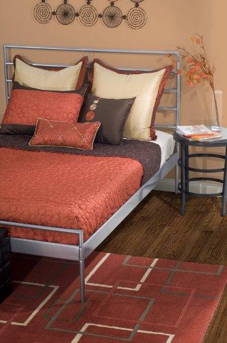 Rizzy Home Btp-805T Cali 3-Piece Cap Quilt Set, Twin front-12310