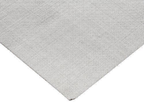 1010 Carbon Steel Mesh Sheet, Unpolished (Mill) Finish, Meets ASTM E2016-06 Specifications, 12