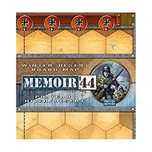 Days of Wonder Memoir '44 Winter/Desert Board Map Board Game