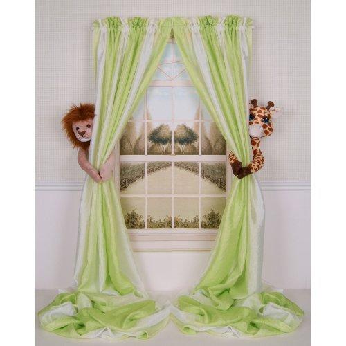 Curtain Critters ALLNGF270510COL Plush Safari Lion and Giraffe Collector Set