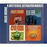 4 Histoires extraordinaires de Jules Verne - Coffret 4 CD