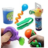 Fish Bubble Fine Motor Squeeze Strength Development Bundle #2 - Hand and Finger Strength Tasks - Occupational therapy, ASD, Autism, Sensory toys, Therapy Toy