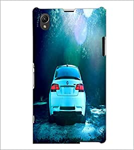 PrintDhaba Car D-2838 Back Case Cover for SONY XPERIA Z1 (Multi-Coloured)