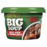 Heinz Big Soup Beef Stew & Dumplings 6 x 430g