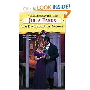 The Devil And Miss Webster (Zebra Regency Romance) Julia Parks