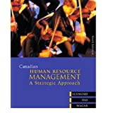 Canadian Human Resource Management A Strategic Approach / Schwind / Wagarby Hermann Schwind