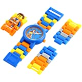 LEGO Kids' 8020219 Emmet Watch with Minifigure Link