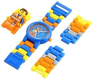 Lego Kids' 8020219 Movie Emmet Minifigure-Link Watch