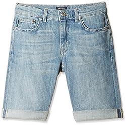 Gant Boys' Shorts (GBHHF0008_Indigo Blue_13 - 14 years)