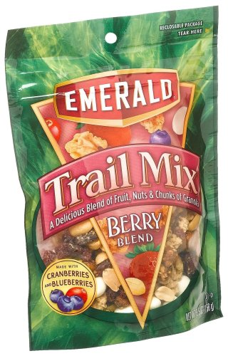 Emerald Berry Blend Premium Trail Mix, 5.5-Ounce Pouches (Pack of 6)