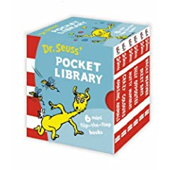 Dr. Seuss Lift-the-Flap Pocket Library (Dr Seuss 50th Birthday Edition)