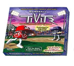 "Baseball Theme TiViTz ""TiVi"" Mental Math Strategy Game"