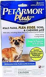 Pet Armor Plus Igr Flea & Tick Topical For Dogs