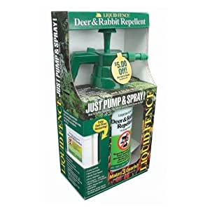 Liquid Fence 310 Deer and Rabbit Repellent Just Pump and Spray