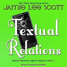 Textual Relations: Gotcha Detective Agency, Book 2 | Livre audio Auteur(s) : Jamie Lee Scott Narrateur(s) : Gabra Zackman