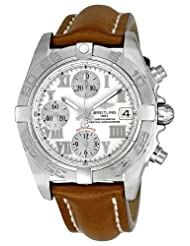 Breitling Men's A13358L2-A596BRLT Galactic Beige Ivory Dial Watch