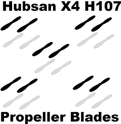 AVAWO Propeller Blades Props Rotor 5x COMBO Propellers For Hubsan X4 H107 H107D H107C H107L Quad from HobbyFlip