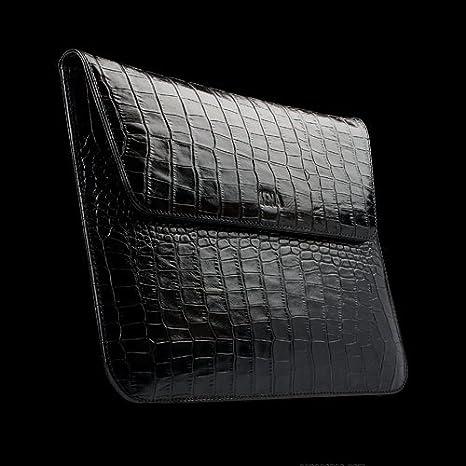 Cas SENA iPad 2 / iPad 3 Crocodile manches exécutif Noir