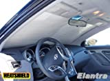 Sunshade compatible with the Hyundai Elantra Sedan 2011 2012 2013 2014 Heatshield Windshield Custom-fit Sunshade