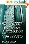 Word 2007 Document Automation with VB...