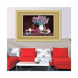 5D Cross Stitch Diamond Painting Diamond Stitch European Oil Painting Living Room Bedroom Dining Room Hanging Painting Elegant Fragrance