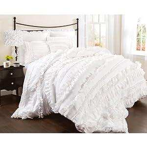 Amazon.com - Lush Decor Belle 4-Piece Comforter Set ...