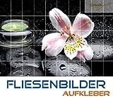 Graz Design 761354_15x15_60 Fliesenaufkleber Fliesen Sticker Folie Dekor Deko für Bad Küche Badezimmer Massagesteine Heilsteine Wellness Fliesengröße 15x15cm (Anzahl Fliesen = 6 breit und 4 hoch)