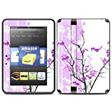 "Kindle Fire HD (fits 7"" only) Skin Kit/Decal - Violet Tranquility"