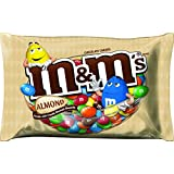 M&M's Almond Chocolate Candy, 15.9 Ounce Bag (Pack of 4)
