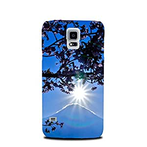 StyleO Samsung Galaxy S4 designer case and cover printed back cover Mount Fuji