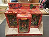 New Kurt Adler Spider-Man 5 Piece Mini Ornament Set 2003
