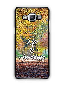 YuBingo Life is Awesome Designer Mobile Case Back Cover for Samsung Galaxy A5