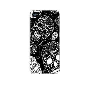 BlackWhiteSkulls Case For Apple iPhone 4S