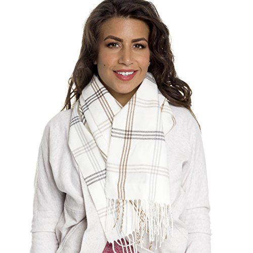 cashmere-cold-weather-winter-scarf-w-gift-box-white-gray-brown-plaid-stripe