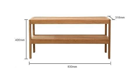 Estantería, Nordic moderno Simples Práctico práctico sala de estar Gran zapatero de madera sólida simple Inicio Estantería