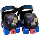 Marvel Spider-Man Junior Skate Combo with Knee Pads (6-9 Junior) by Bravo Sports